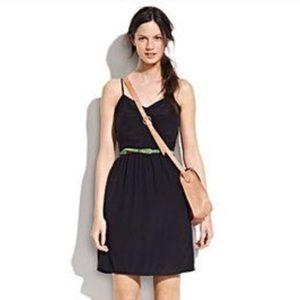 Broadway & Broome Brushed Silk Black Cami Dress